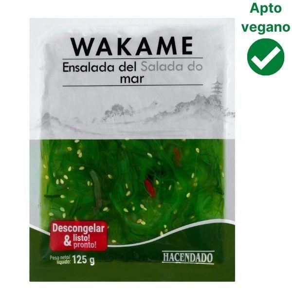 Ensalada de alga wakame Mercadona