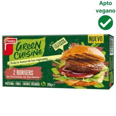 Hamburguesa vegana Green Cuisine Findus