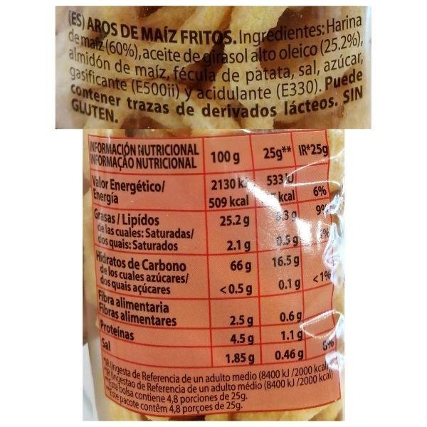Triskys Mercadona ingredientes e información nutricional