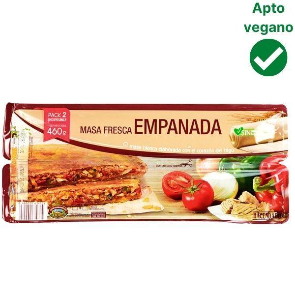 Masa para empanadillas Mercadona vegana
