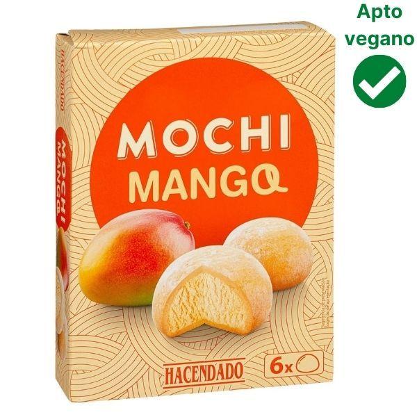 Mochis de mango Mercadona veganos