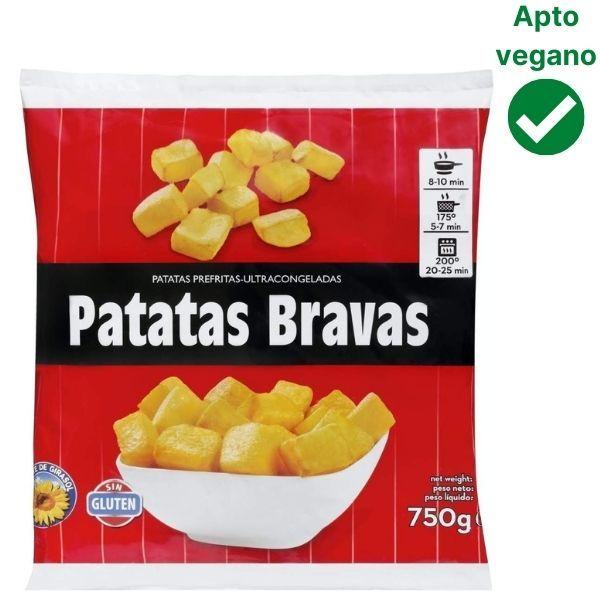 Patatas bravas Mercadona veganas
