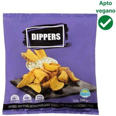 Patatas dippers Mercadona veganas