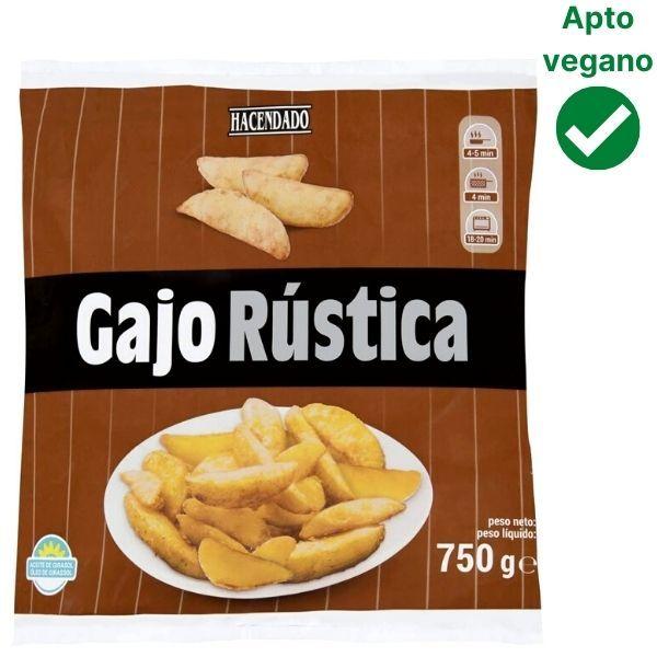 Patatas gajo Mercadona veganas