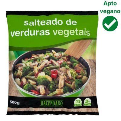 Salteado de verduras congelado Mercadona