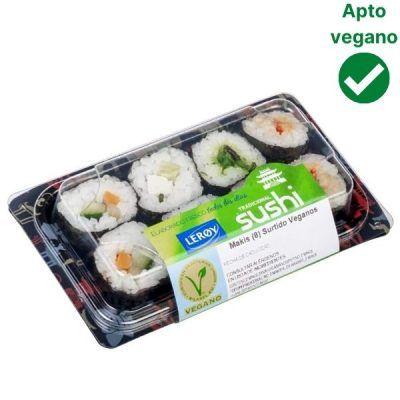 Sushi vegano Mercadona