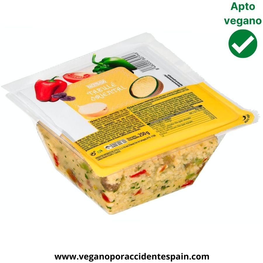 Tabulé Mercadona vegano
