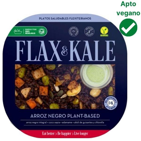 Arroz negro vegano Flax & Kale
