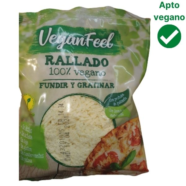 Queso vegano rallado Lidl Vegan Feel