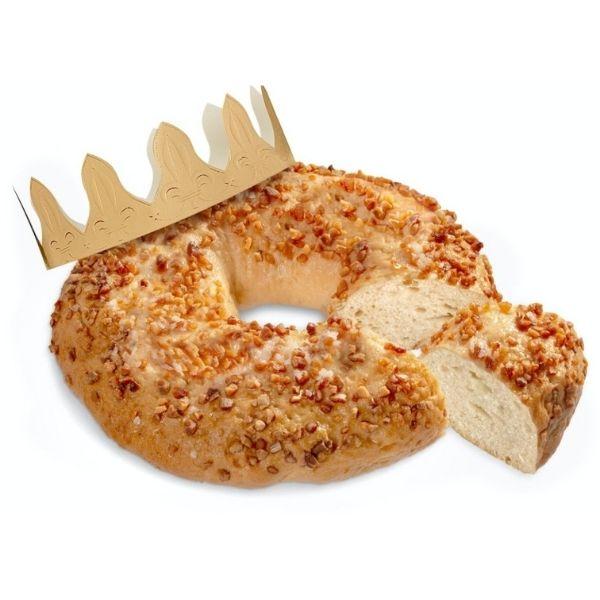 Roscón de reyes sin gluten vegano Mercadona