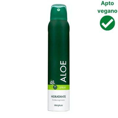 Desodorante aloe Mercadona vegano