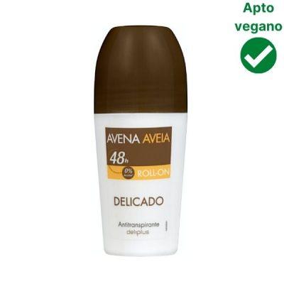 Desodorante avena Deliplus Mercadona vegano