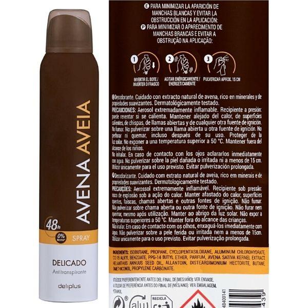 Desodorante en spray Mercadona vegano