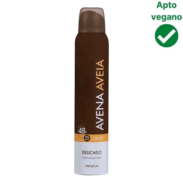 Desodorante de avena en spray Mercadona Deliplus