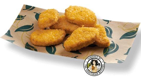 Nuggets veganos Telepizza ingredientes