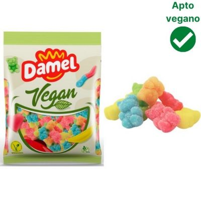 Ositos de chuche con azucar veganos Damel