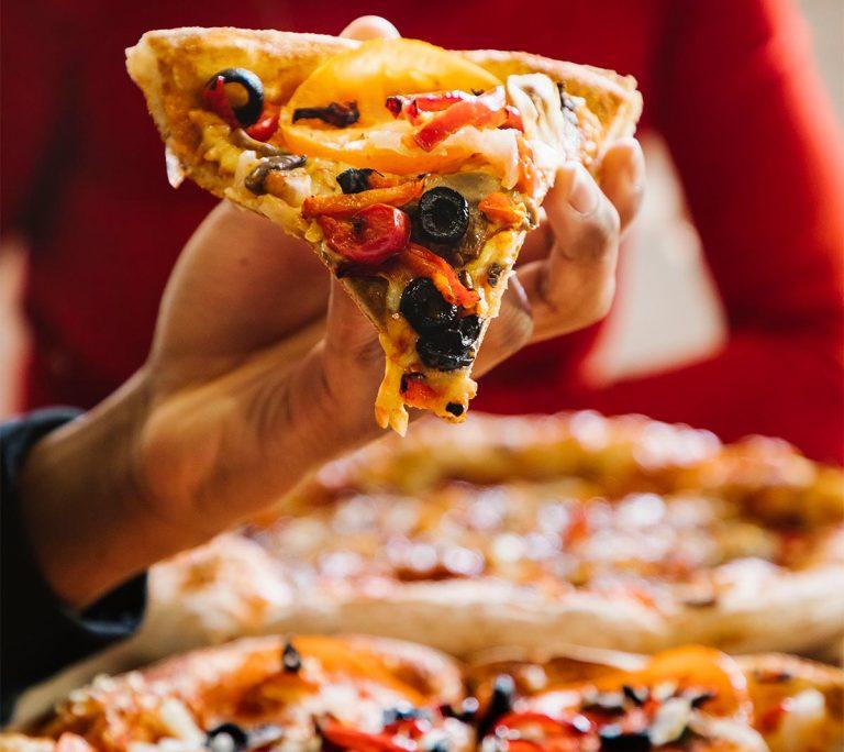 Telepizza sin lactosa