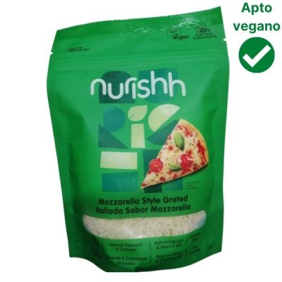 Queso vegano mozzarella rallada Nurish Carrefour