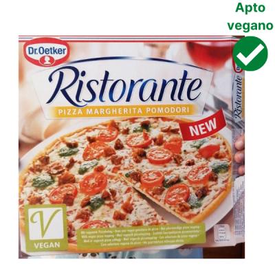 Pizza margarita vegana dr Oetker