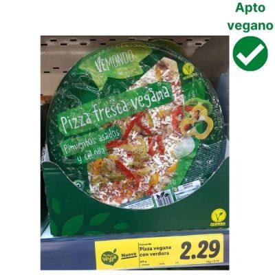 Nueva pizza vegana Lidl