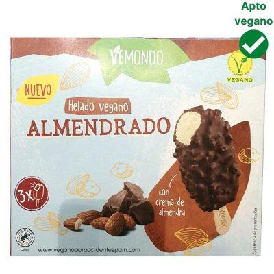 Helado almendrado Lidl vegano Vemondo
